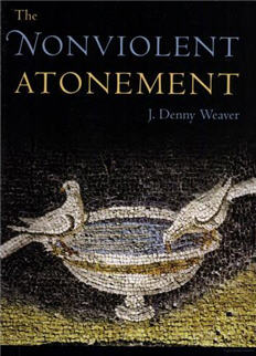 Nonviolent Atonement - Weaver